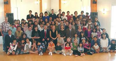 10th Anniversary Picture of Nisshin Church