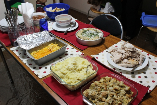 Christmas Dinner at our House
