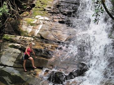 Cathalain at Waterfall web