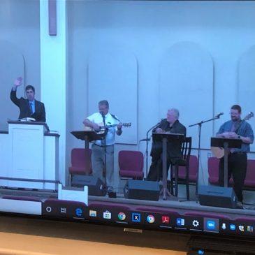 Preaching via Live Stream
