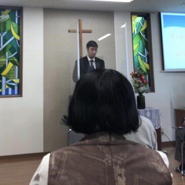Preaching Behind Plexiglass
